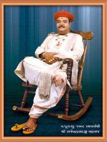 Swaminarayan Photo, Ajendraprasadji Maharaj