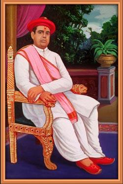 H.H. 1008 Shree Acharya Shree Anandprasadji Maharaj