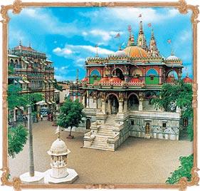 Shree Gopi-Nathji Maharaj Mandir<br>Gadhpur Dham
