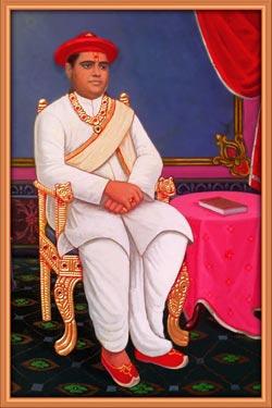 H.H. 1008 Shree Acharya Shree Narendraprasadji Maharaj