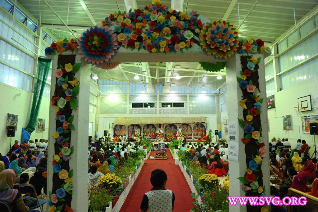 Swaminarayan Mahotsav UK Day 5 Evening Katha Session 92