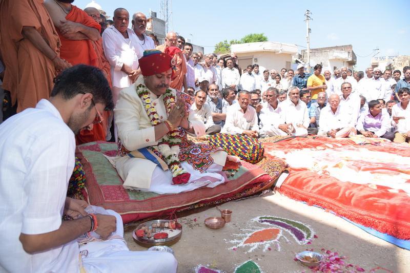 Nutan Yatrik Bhuvan Bhoomi Pujan 12