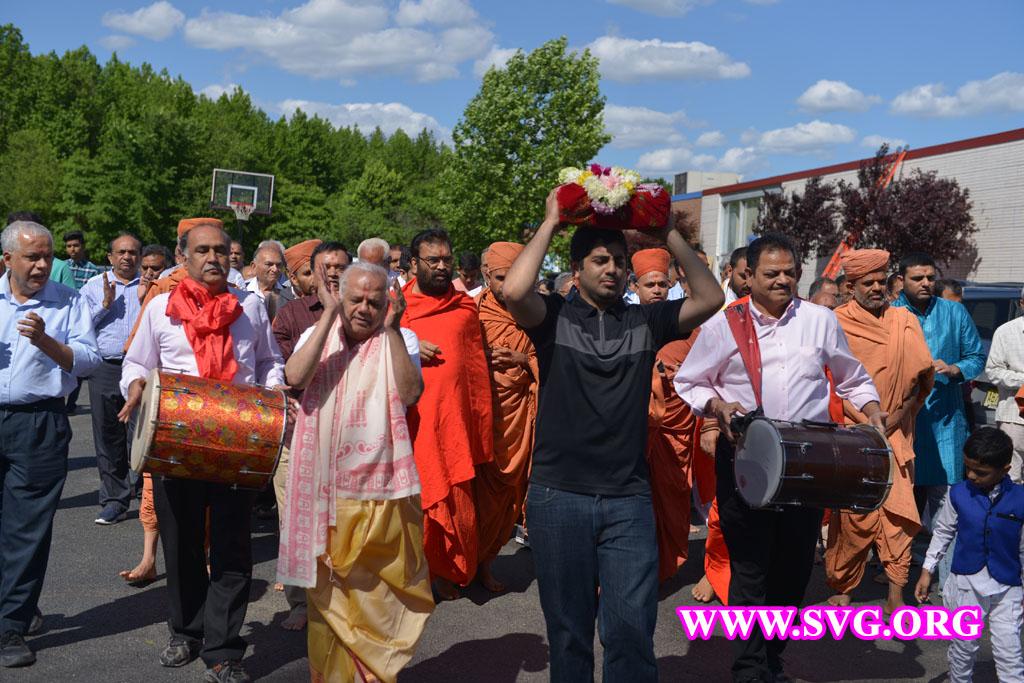 New Jersey Pratishtha Day 1 Pothiyatra 14