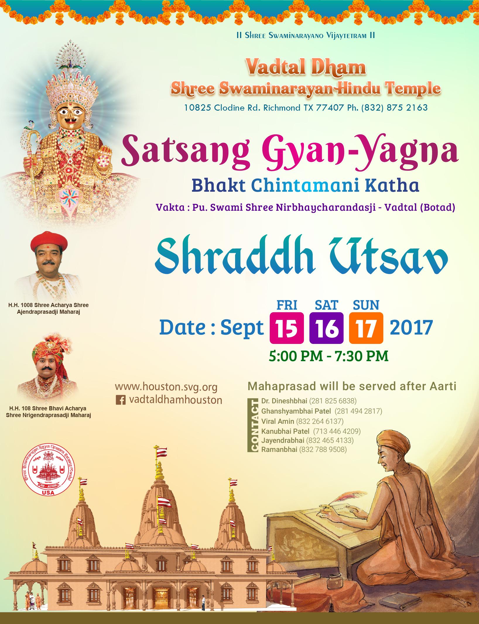 Satsang Gyan Yagna Swaminarayan
