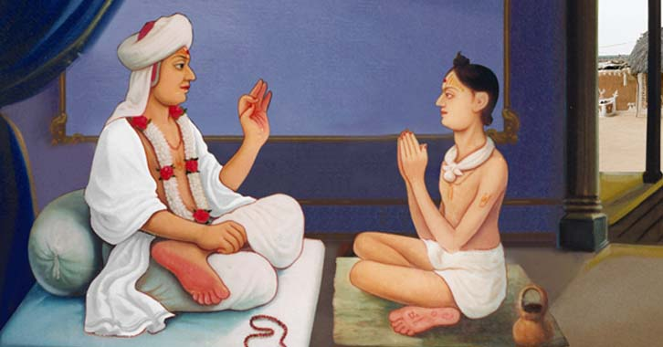 swaminarayan, swaminarayan Vadta Gadi, Ramanand Swami – Guru of Lord Swaminarayan