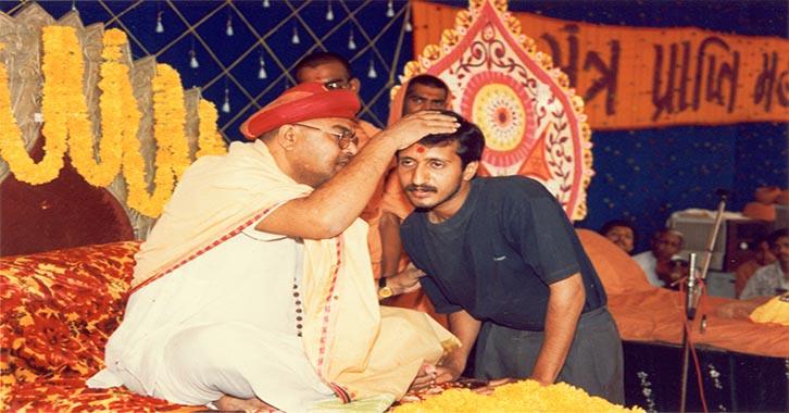 swaminarayan, swaminarayan Vadta Gadi, Guru mantra