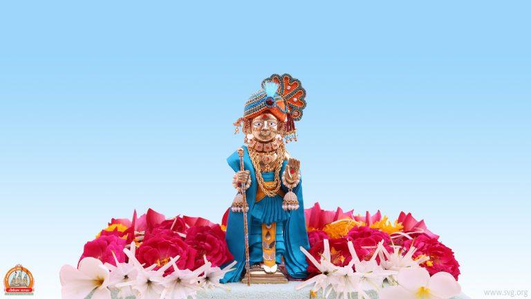 Swaminarayan - Desktop-Wallpaper