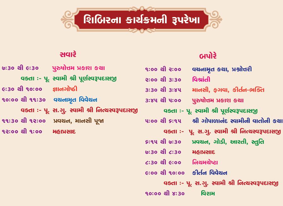 Swaminarayan Satsang Shibir Manavada -2018 (1)