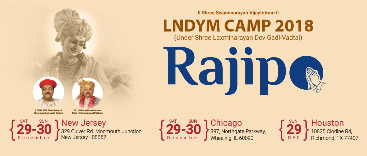 Swaminarayan - Rajipo Camps