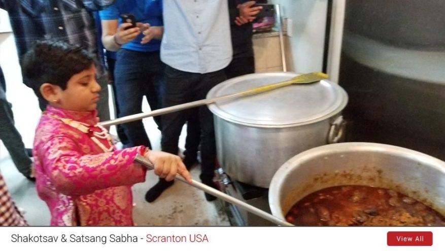Satsang Sabha & Shakotsav, Scranton (USA) – 2018