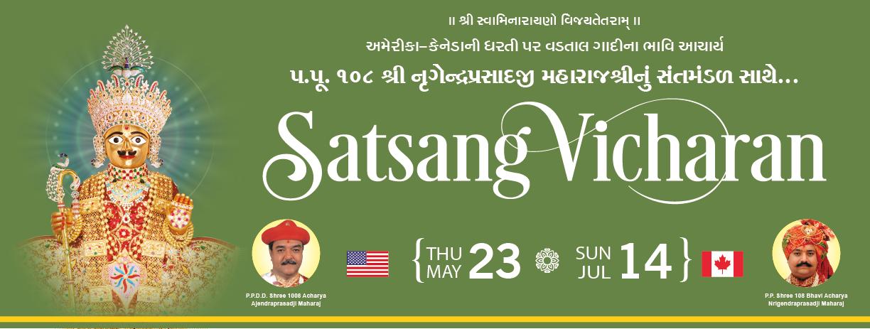 Satsang Vicharan May to July 2019