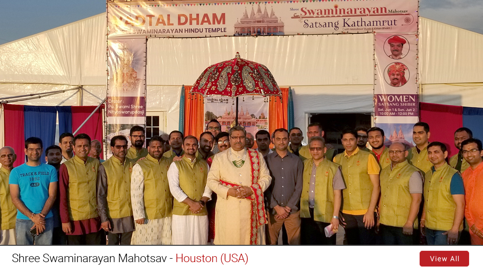 Houston (USA) : Shree Swaminarayan Mahotsav | May 2019