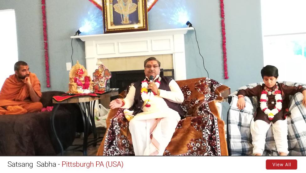 Pittsburgh – PA (USA) : Satsang Sabha | 25th to 26th June 2019