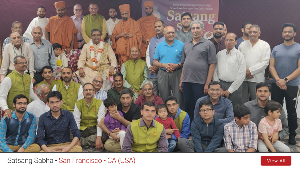 San Francisco – CA (USA) : Satsang Sabha | 6th to 8th June 2019