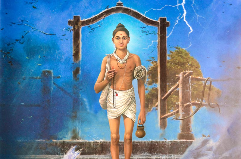 swaminarayan, swaminarayan Vadta Gadi, નીલકંઠ વર્ણીનો ગૃહત્યાગ