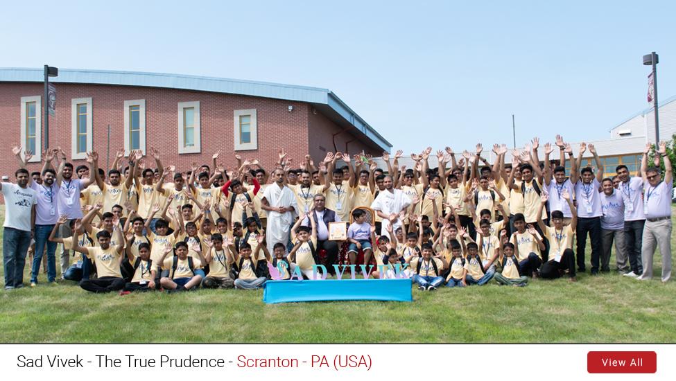 Scranton - PA (USA) : Sad Vivek - The True Prudence | 27th to 29th June, 2019
