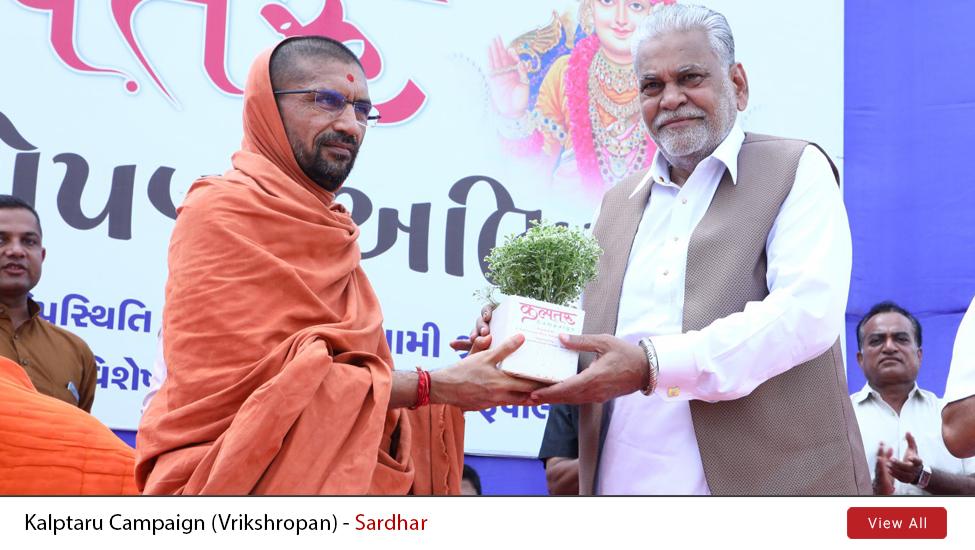 Kalptaru Campaign (Vrikshropan) @ Sardhar