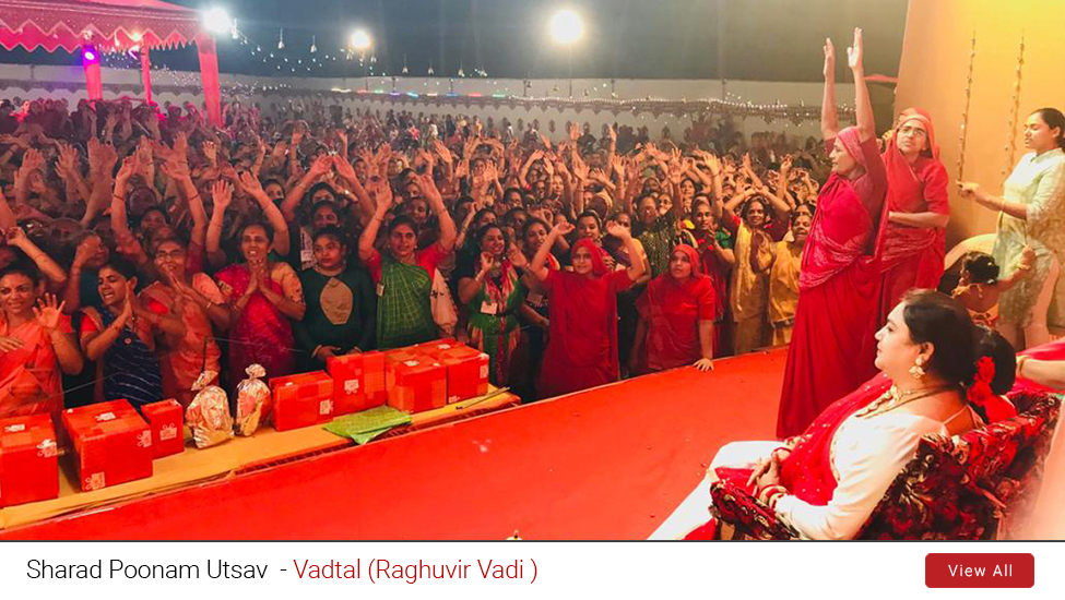 Vadtal - Sharad Poonam Utsav (Raasotshav Competitions)