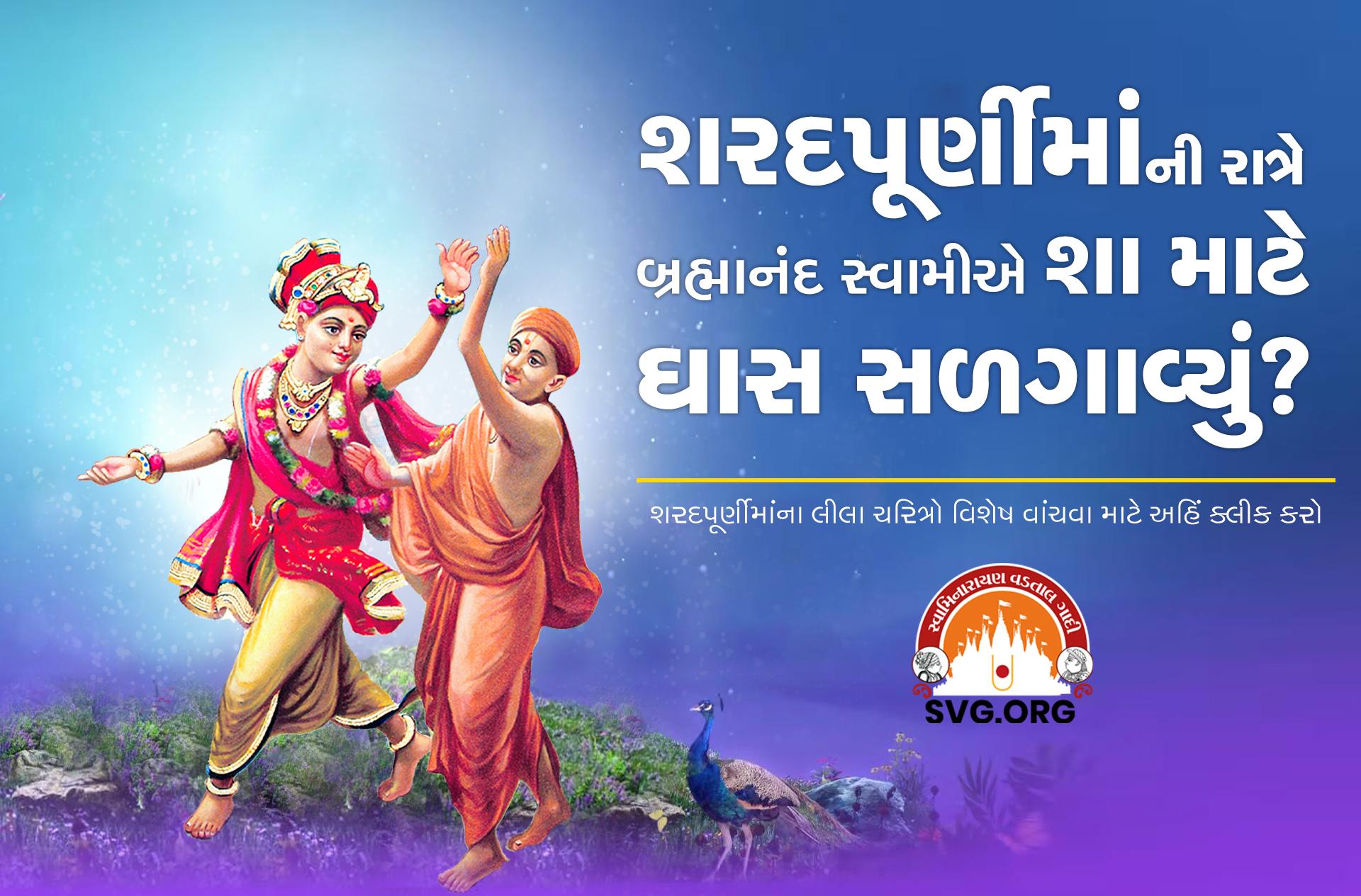 swaminarayan, swaminarayan Vadta Gadi, Sharad Purnima – (શરદ પૂર્ણિમા)