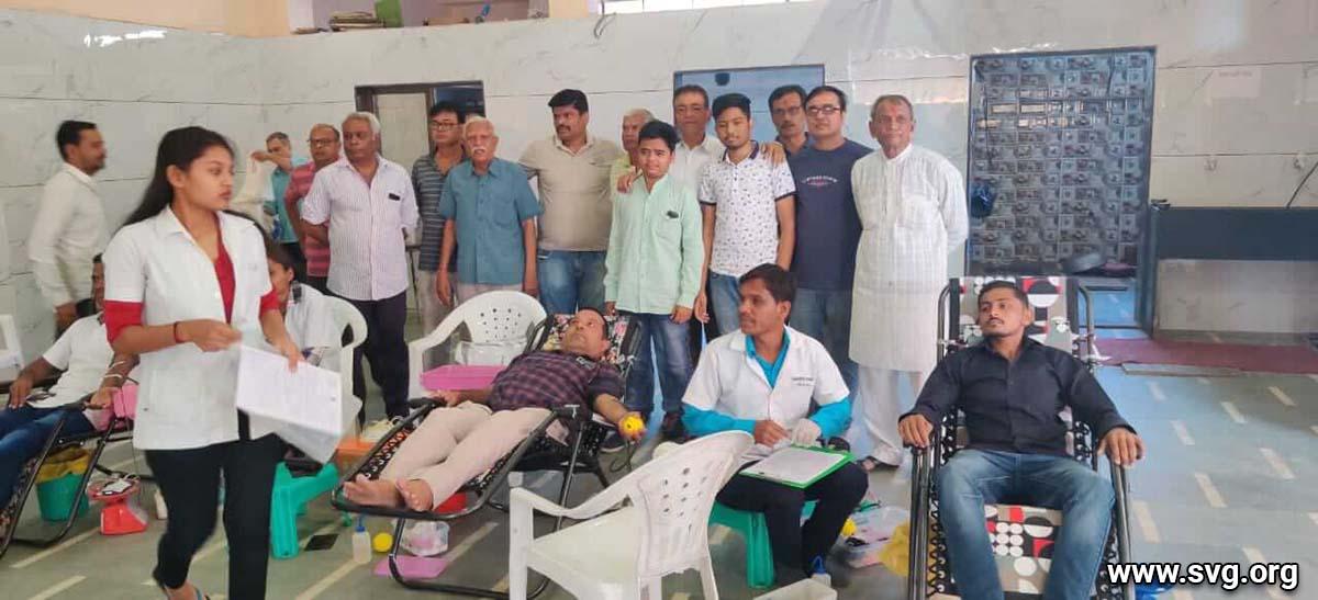 Vadodara  : Blood Donation Camp, Makarpura Mandir | 17 Nov 2019