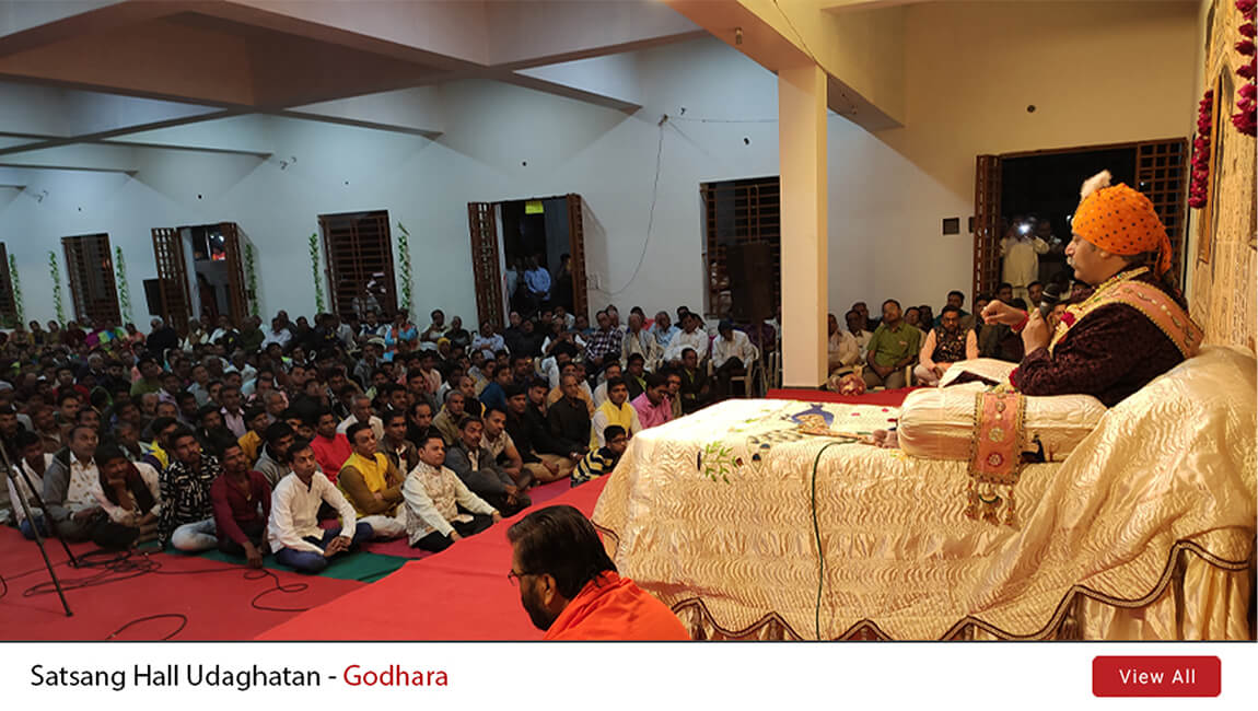 Satsang Hall Udaghatan - Godhara  | 29th Jan 2020