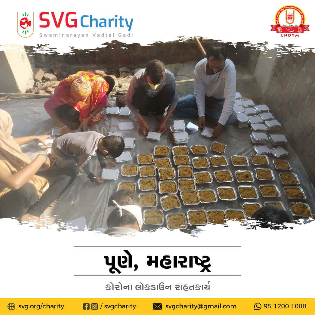 SVG Charity : Corona (COVID-19) Relief Work By Pune, Maharashtra
