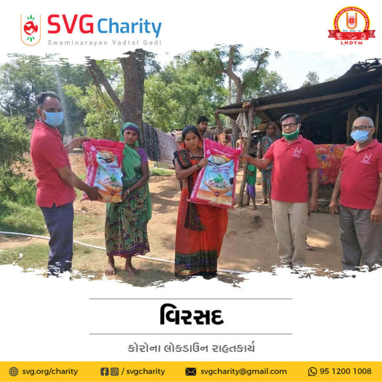 SVG Charity Corona COVID 19 Relief Work By Virsad Anand
