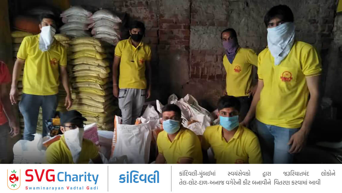 SVG Charity : Corona (COVID-19) Relief Work By Kandivali, Mumbai
