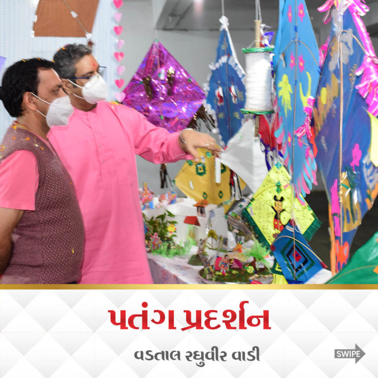 Kite Exhibitions Raghuvir Vadi Vadtal 9 Jan 2021 38