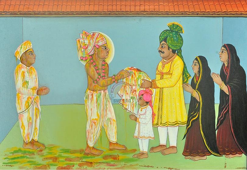 Swaminarayan Holi Wall Paper