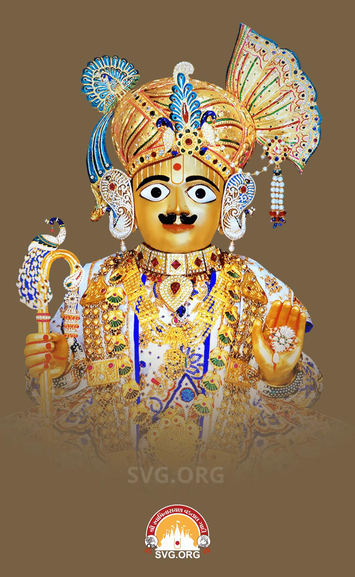 Harikrushna Maharaj Mobile Wallpaper