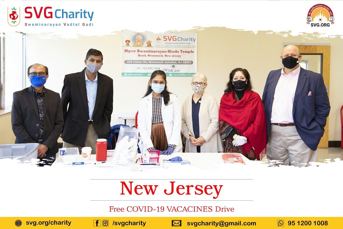 SVG Charity Covid Vaccines Camp in New Jersey 8 May 2021 18