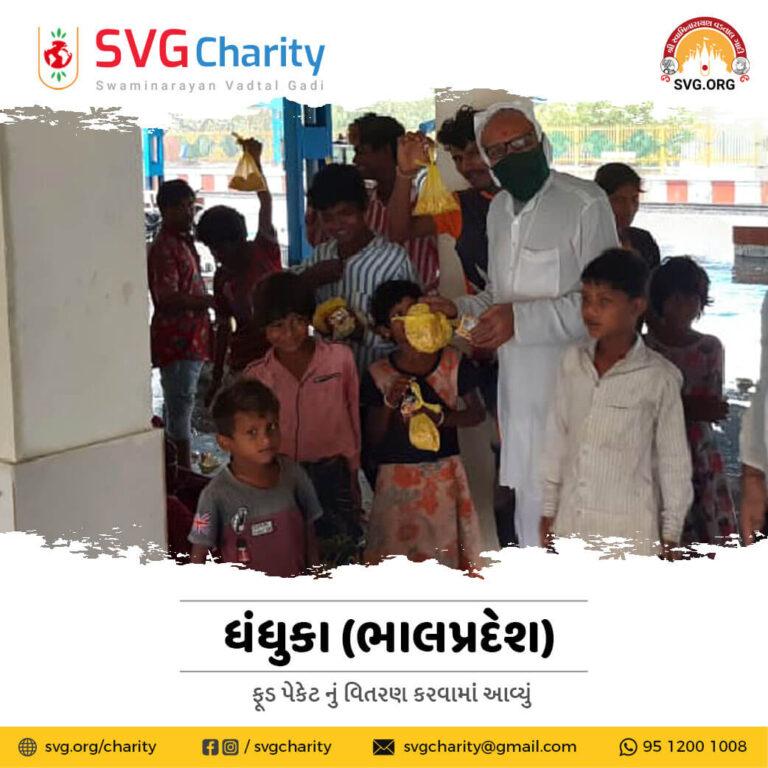 SVG Charity Emergency Food Distribution During Cyclone Tauktae in Dhandhuka Gujarat 18 May 2021 1