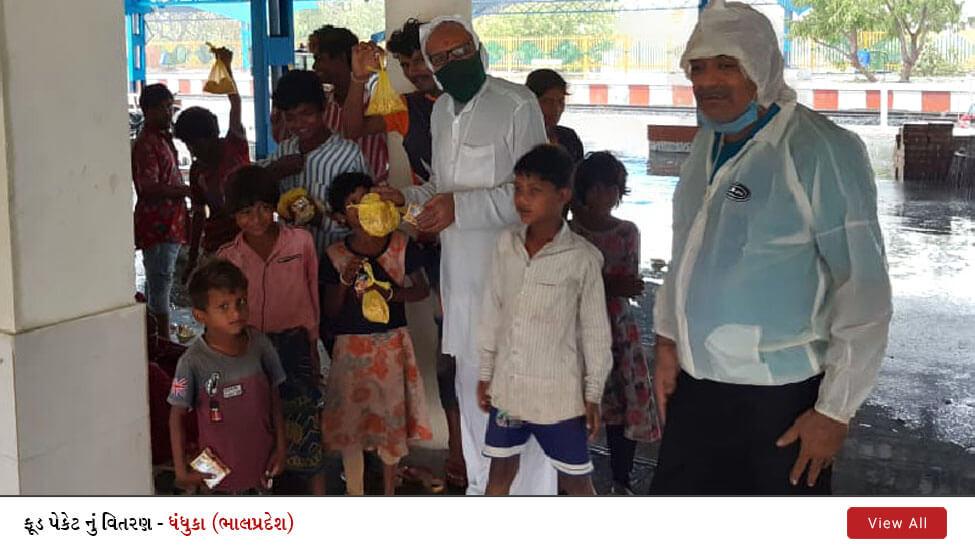 SVG Charity : Emergency Food Distribution During Cyclone Tauktae in Dhandhuka, Gujarat | 18 May 2021