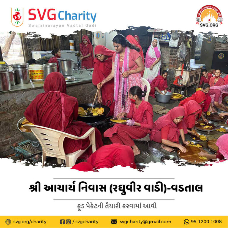 SVG Charity Emergency Food Distribution During Cyclone Tauktae in Gujarat 18 May 2021