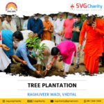 SVG Charity : 72,000 trees were planted by the Dharmakul Family at Raghuvir Vadi – Vadtal   25 July 2021