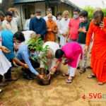 72000 trees were planted by the Dharmakul Family at Raghuvir Vadi Vadtal 6
