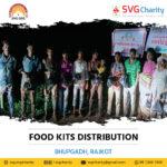 SVG Charity : Food Distribution – Bhupgadh, Rajkot, Gujarat | 15 Oct 2021